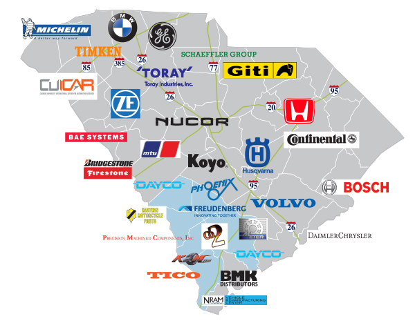 automotive companies located here